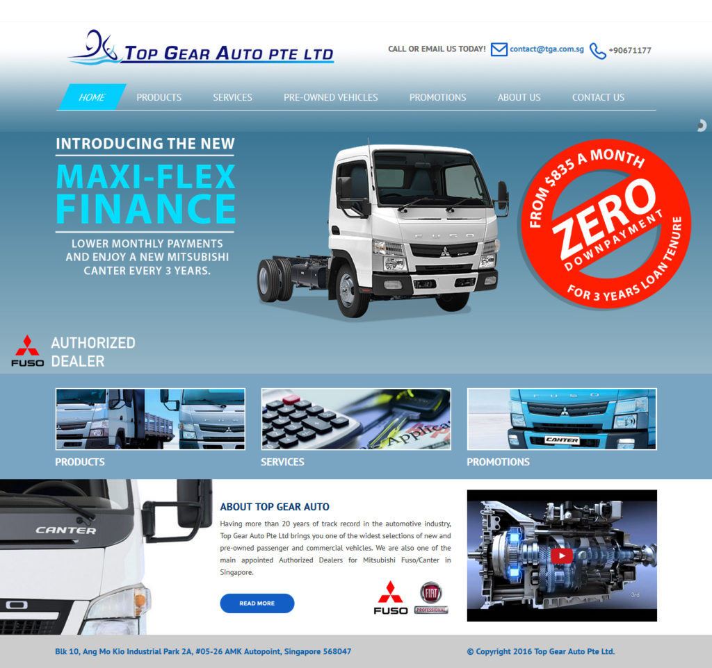 Top Gear Auto PTE LTD